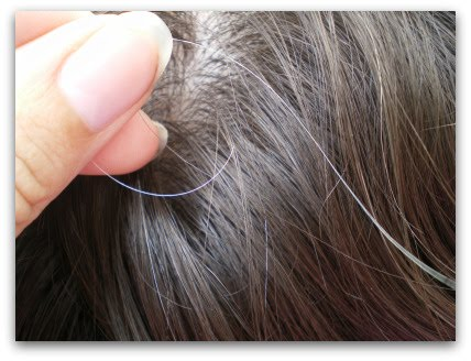 how to prevent graying hair