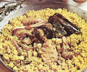 This image it is about Paella Recipe