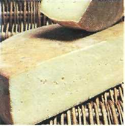 montasio or carnia and vivaro cheese