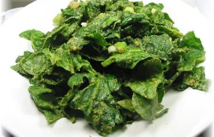 Raw Spinach Salad 2