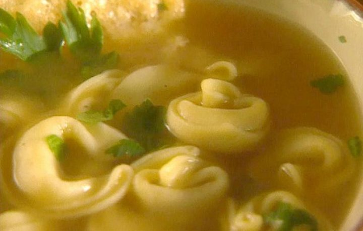 Cheese Tortellini Soup 2