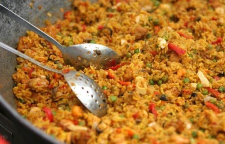 Vegetarian Paella 2