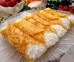 Imaginea thumbnail despre Cherry-Cheese Crepes