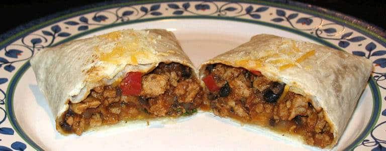 Turkey and Bean Burritos 8