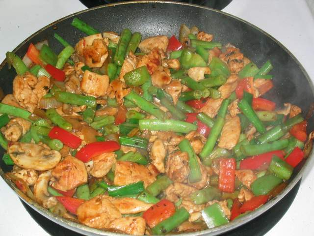 Creating great stir-frys without soy sauce
