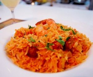 This image it is about Vegetarian jambalaya