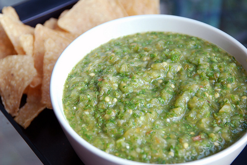 Green Tomatillo Salsa