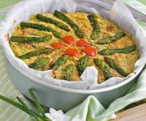 This image it is about Asparaguss Finnocchio Pie : Italian recipe