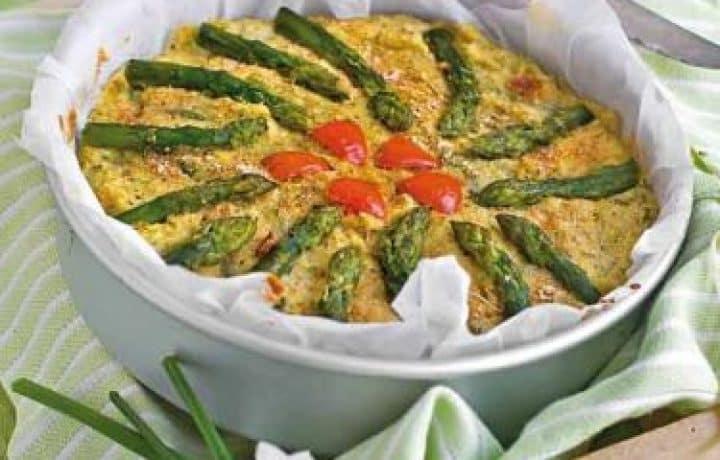 Asparaguss Finnocchio Pie : Italian recipe 2