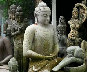 This image it is about Buddhist sculpture