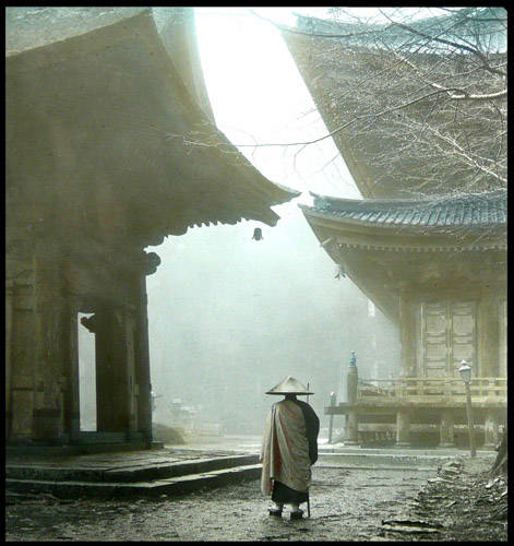 Esoteric Buddhism - Tendai temple