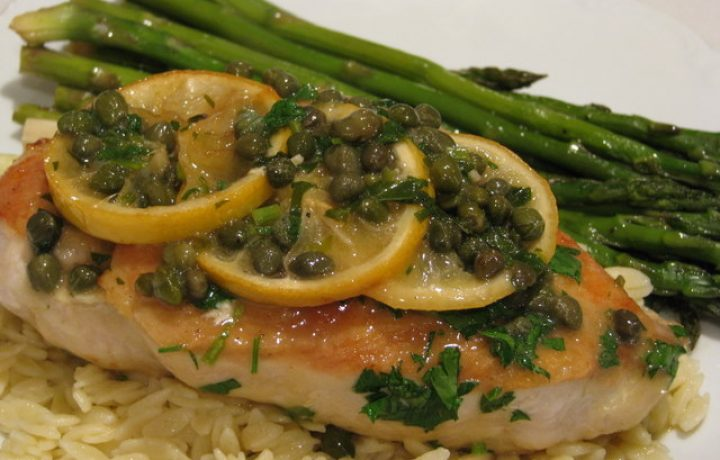 SAUTEED CHICKEN BREAST WITH LEMON SAUCE 2
