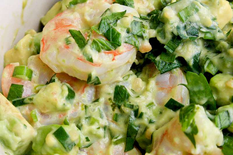 SHRIMP AND AVOCADO NOEL