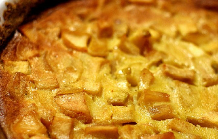 Savory Baked Apple Custard 2