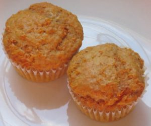 This image it is about Tastefully simple spiced carrot muffins