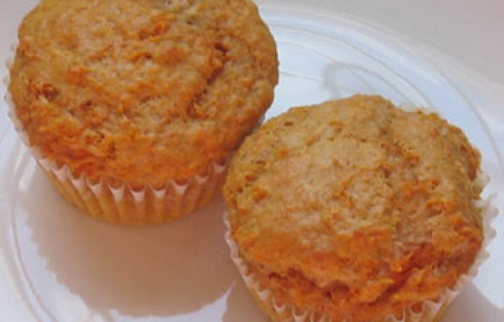 Tastefully simple spiced carrot muffins 6