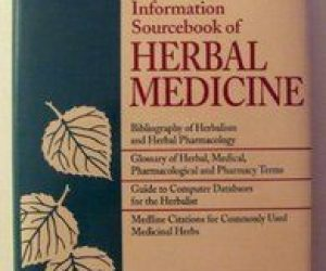 This image it is about The Information Sourcebook of Herbal Medicine