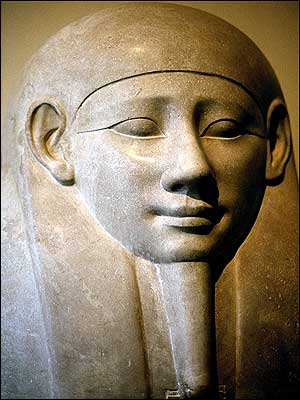 Egyptian statue-Vatican Museum- Rome-Italy
