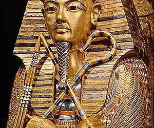 Golden Effigy of King Tutankhamen-Egyptian Museum-Cairo