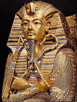 Golden Effigy of King Tutankhamen-Egyptian Museum-Cairo
