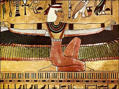 Isis Extends Winged Arms-Seti I Grave-Egypt