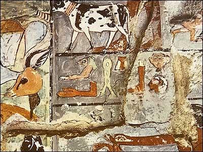 Offerings-Necropolis of Memphis at Saqqara