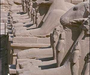 Sculpture-Karnak Temple-Luxor-Egypt