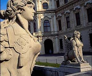 Sphinx at Belvedere Palace- Vienna-Austria