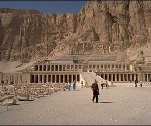 Temple of Hatcheapsut- Valley of the Queens- Egypt