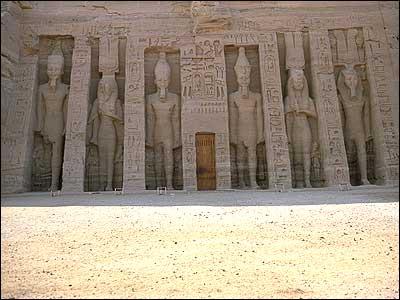 Temple of Nefertari-Abu-Simbel- Egypt