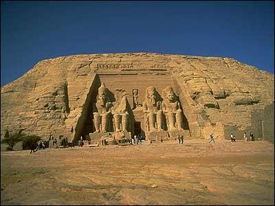 Rameses II's temple - Abu Simbel
