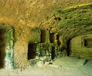 Tombs of Anfouchy-Alexandria-Egypt