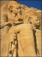 statues of Rameses II - Abu Simbel