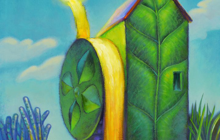 Bioenergy and Photosynthesis-Drawing by Michael Hagelberg