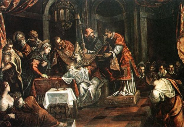 The Circumcision - Tintoretto (source wikipaintings.org)