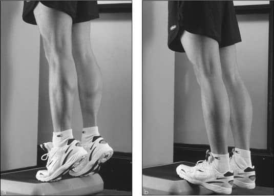 calf-raising exercises