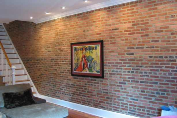 the faux brick wall covering trends