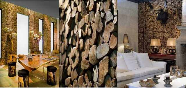 wood covering for walls