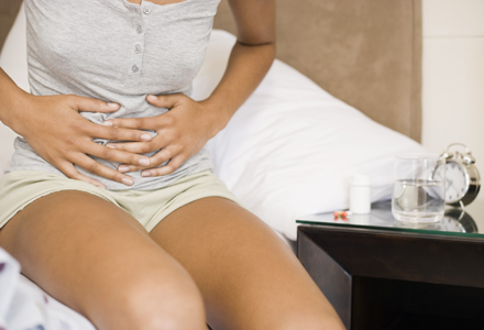 how to recognize a stomach ache