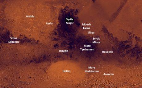 Region of mars
