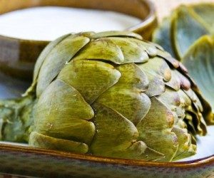 This image it is about Cooking with artichokes