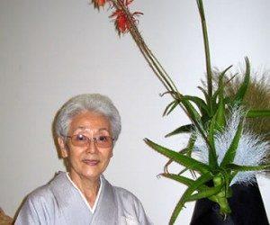 This image it is about Ellen Gordon Allen – The Living Art Of Ikebana! How to Arrange Flowers