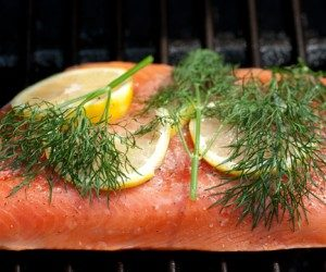 This image it is about Salmon – Dill Cocktail Whip – How to prepare this recipe at home