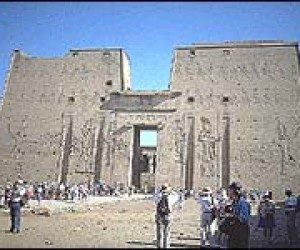 This image it is about Ancient Egypt – Edfu