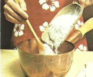 This image it is about How to prepare the choux pastry – pate à choux