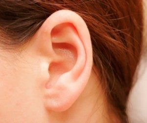 This image it is about Swimmer's ear