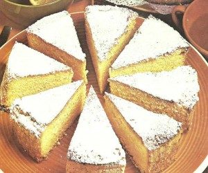 This image it is about Puff pastry margherita cake