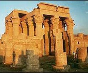 This image it is about Ancient Egypt – Kom Ombo – the Double Temple