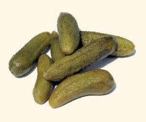 This image it is about Eating low-fat? get in a pickle