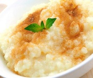 This image it is about Rice Pudding Recipe
